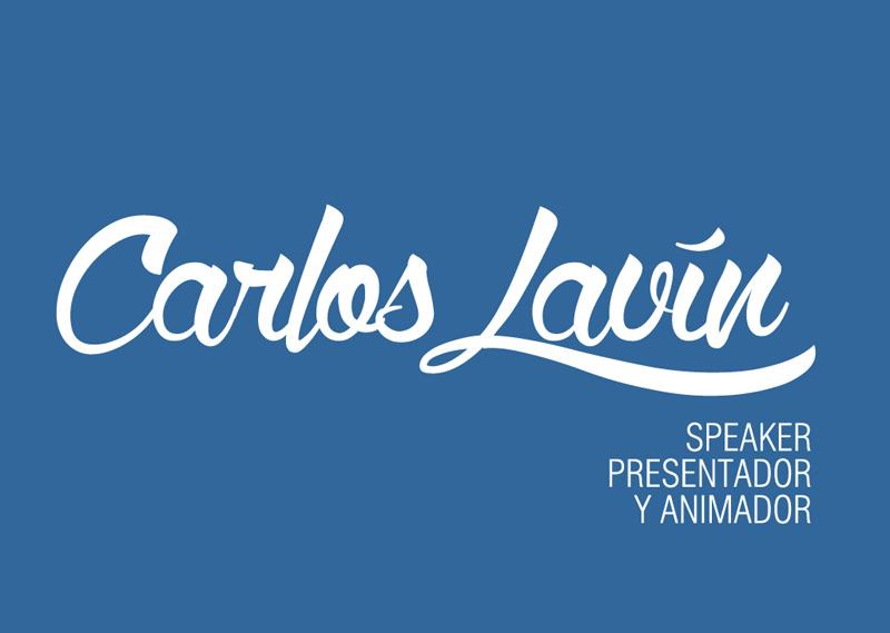 Carlos Lavín - Logotipo