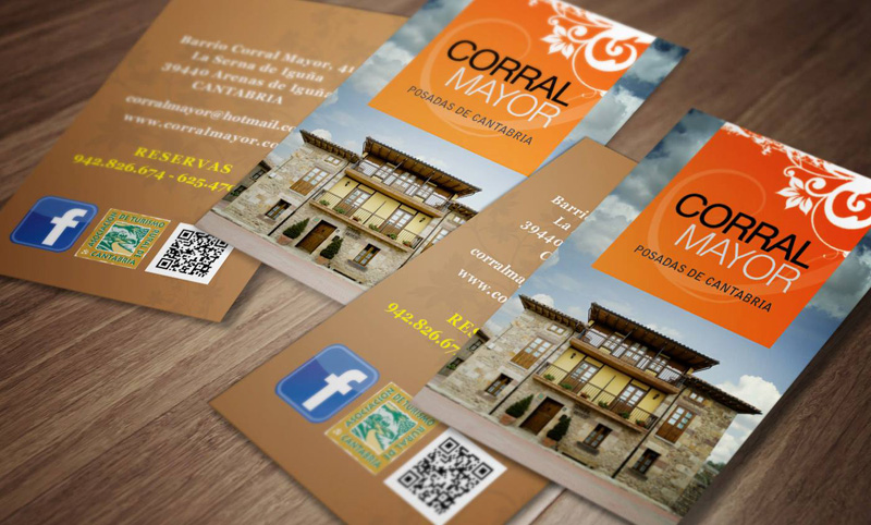 Corral Mayor - Tarjetas de visita